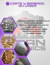 Servicio De Corte Y Grabado En Laser De Mdf,acrilico, Vidrio