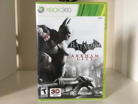 Batman Arkham City - Xbox 360 - Mídia Física Original