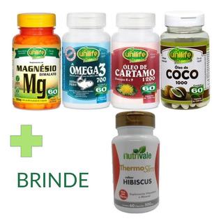 Quarteto Saúde Dr Lair Ribeiro + Brinde Thermo Slim