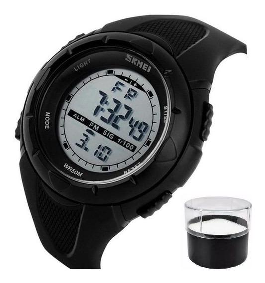 Relógio Analógico Digital Naviforce 9138m
