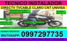 Instalacion Antenas Directv Tvcable Univisa Cnt Con Partidos