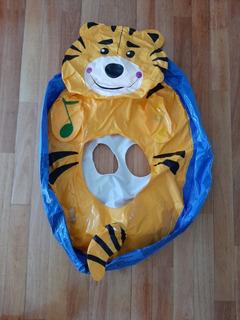 Salvavidas Tigre Para Bebes Niños Inflable Con Sillita Agua