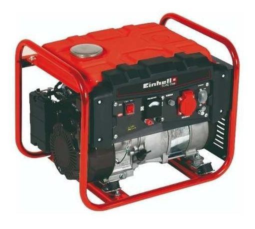 Generador Gasolina 1.100 W Tc-pg 3500, Color Negro C/ Rojo