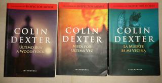 Collin Dexter Inspector Morse X 3 Longchamps Oferta