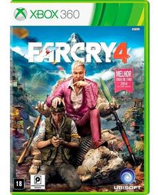 Jogo Far Cry 4 Xbox 360 Dvd Original Midia Fisica Mxtgm