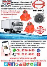 Bombas De Agua Automotrices Hino Fb W06e,w04d,w04e Turbo
