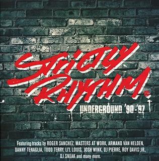 Cd : Strictly Rhythm Underground 90-97 - Strictly Rhythm...