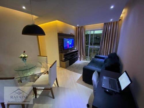 Imagem 1 de 20 de Apartamento Com 3 Dormitórios À Venda, 64 M² Por R$ 355.000,00 - Ponte Grande - Guarulhos/sp - Ap1109