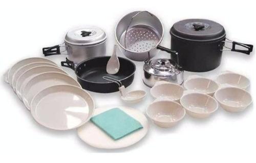 Marmita Doite Para 6 Personas Aluminio Anodizado