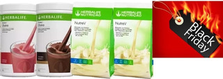 Kit 2 Shakes Herbalife 550g + 2 Nutrevs Emagrecedor