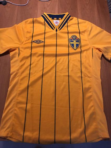 Camiseta De Futbol Del Seleccionado De Suecia Umbro Small