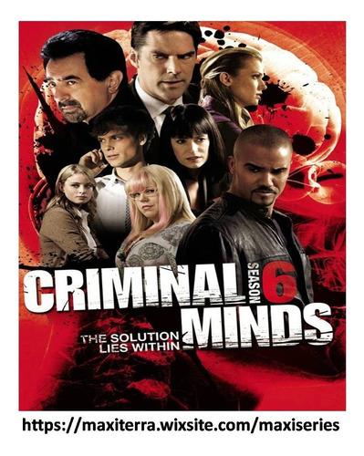 Serie Mentes Criminales Criminal Minds En Dvd Mercado Libre