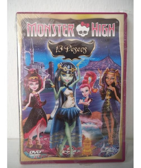 Monster High 13 Deseos Dvd