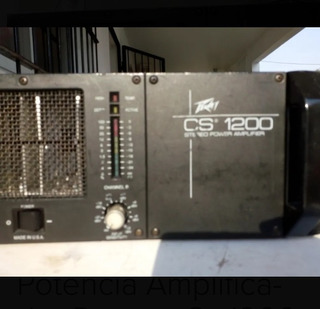 Potencia Peavey Cs 1200 No Crest Ca Sts Yamaha