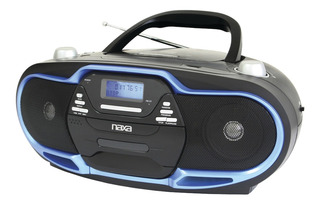 Radiograbadora Portátil Naxa Npb-257 Con Reproductor Cd Y