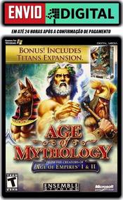Age Of Mythology + The Titans - Em Português - Envio Digital