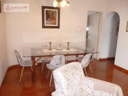 Apartamento Com 3 Dormitórios À Venda, 118 M² Por R$ 1.100.000 - Santa Cecília - São Paulo/sp - Ap1581