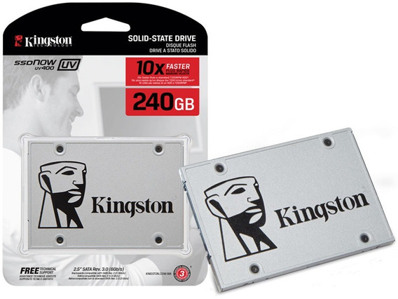 Ssd Desktop Sata Iii Blister Uv400 240gb 2.5 Kingston