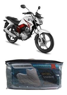 Capa Impermeável Para Cobrir Honda Cg 150 Titan Es P(210)