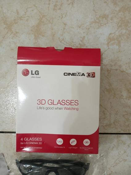 4 Oculos 3d Cinema Glasses- Lg Modelo Ag-f310 - Jr-23