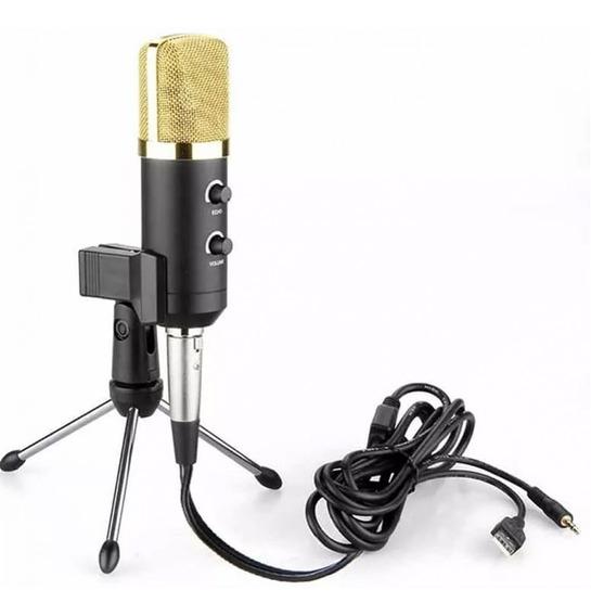 Microfone Condensador Usb Gravação Profissional Lorben Gt648