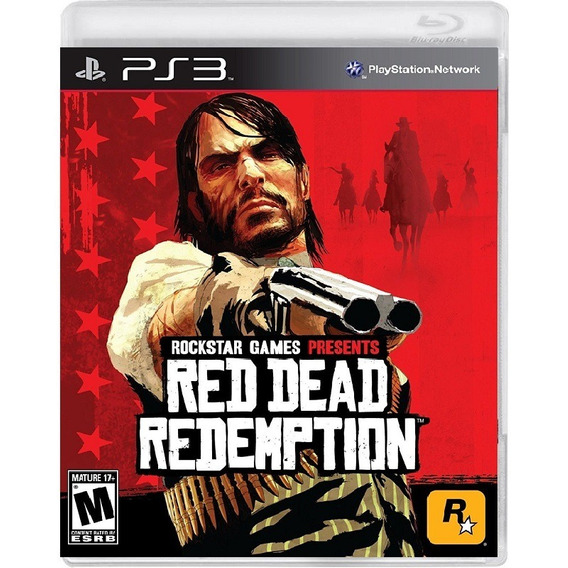 Red Dead Redemption - Mídia Física / Ps3
