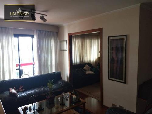 Apartamento Com 3 Dormitórios À Venda, 120 M² Por R$ 1.300.000,00 - Perdizes - São Paulo/sp - Ap49823