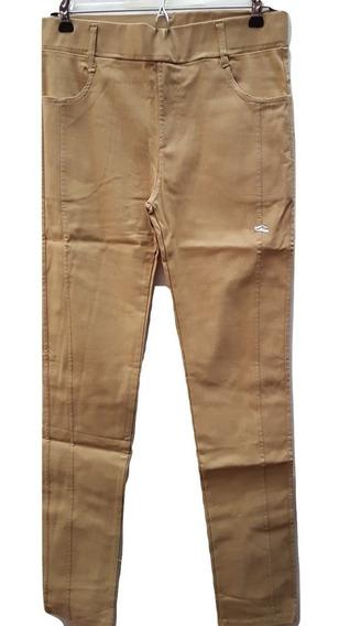 Pantalones Jeggins Con Bolsillos Super Elastizados Xl