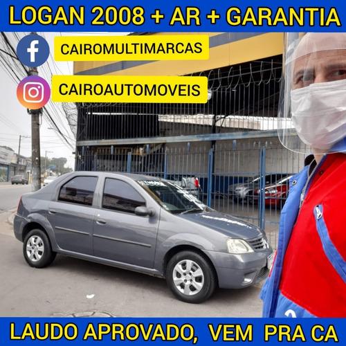 Imagem 1 de 14 de Logan Expression Flex Ar Condicionado Gelando Laudo Aprovado