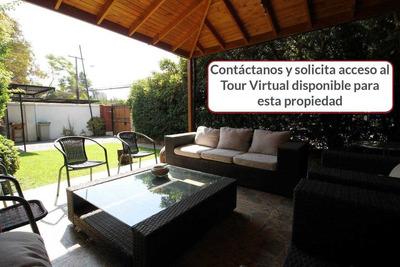 Casa 4d+3b+2est 150m2 Terreno 124m2 Útil Casa Costanera /