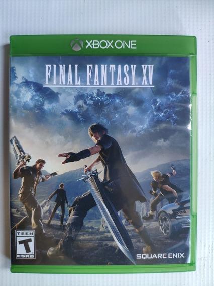 Final Fantasy Xv Xbox One Midia Física Semi Novo