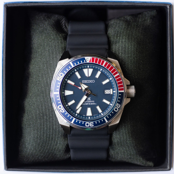 Relógio Seiko Prospex Samurai Srpb53 Diver