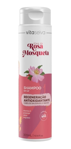 Shampoo Oleo De Rosa Mosqueta 300ml Vs