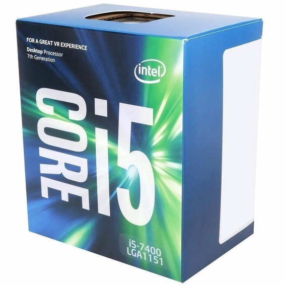 Processador Intel Core I5-7400 3.00 6 Mb Lga 1151