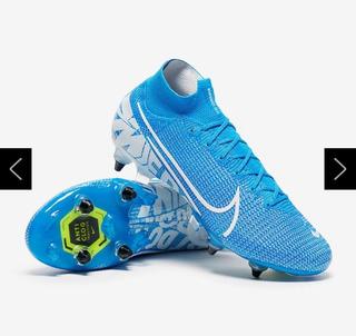 Chuteira Campo Nike Mercurial Superfly 18 Trava Mista