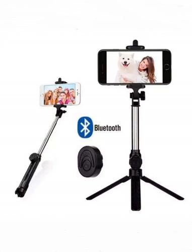Tripé Selfie 3 Em 1 Android iPhone Monopé Bastão Garantia