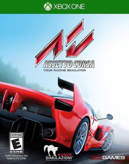 Assetto Corsa - Xbox One - Mídia Física - Lacrado - Nf