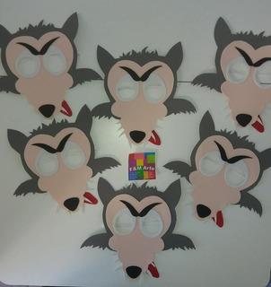 Mascaras De Lobo Goma Eva En Mercado Libre Argentina