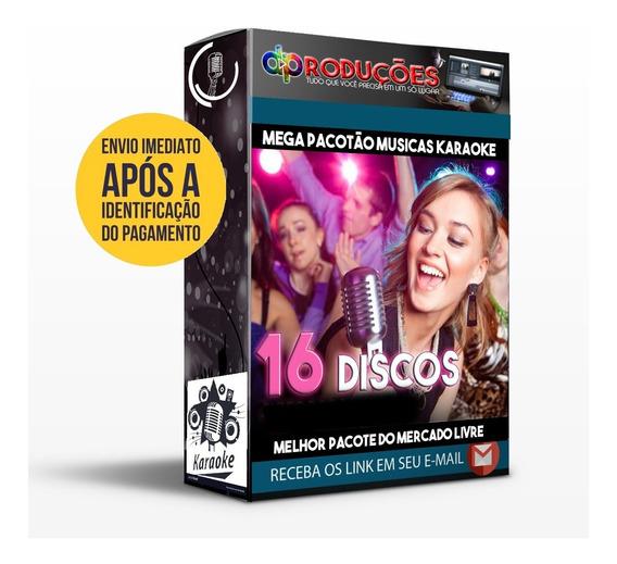 Músicas Karaoke E Videoke - 16 Dvds C/ Pontuação Download