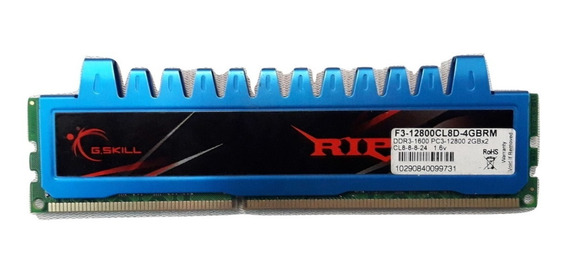 Memoria Ddr3 G.skill 2gb 1600mhz Pc3-12800 16 Chips 39
