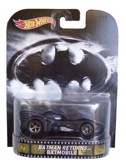Hotwheels Batman Returns Batimobil 1:64 Dc