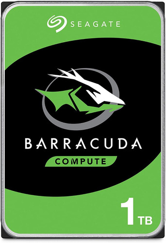 Seagate Barracuda 1tb Disco Duro Hdd Sata 6 Gb/s 3.5 In