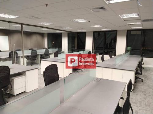 Conjunto Para Alugar, 300 M²  - Vila Olímpia - São Paulo/sp - Cj1711