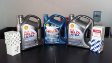 Cambio Aceite Y Filtro Shell Helix Hx5/hx7 Semi/ultra Sint