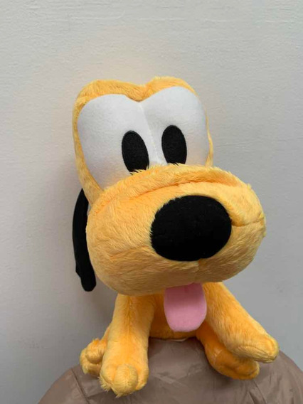 Pluto Baby Pelúcia - Cachorro Do Mickey - Long Jump