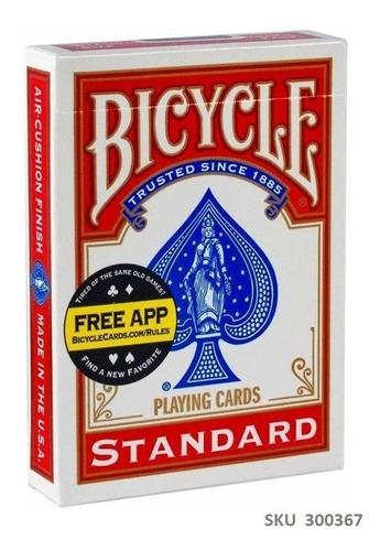 Cartas Baraja Bicycle Poker Black Jack Stanard Importada W01