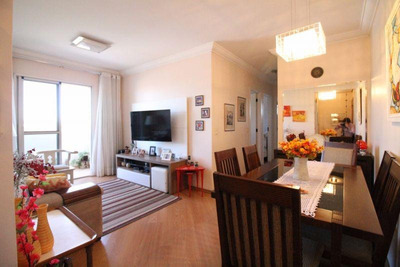 Apartamento Em Sacomã, São Paulo/sp De 70m² 3 Quartos À Venda Por R$ 430.000,00 - Ap218629
