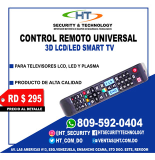 Control Remoto Universal Smart Tv