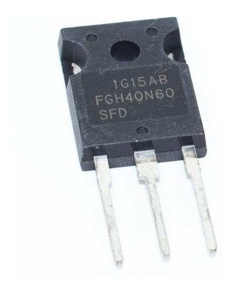 Transistor Igbt Fgh40n60sfd Fgh40n60 40n60 600v 80a To-247
