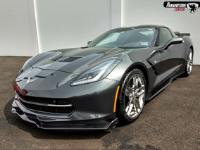 Chevrolet Corvette Stingray Coupe Z51 460hp Gris Oxford 2017